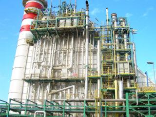 Verniciature serbatoi Rack Centrale Edison Milazzo - Andaloro Coating S.r.l.